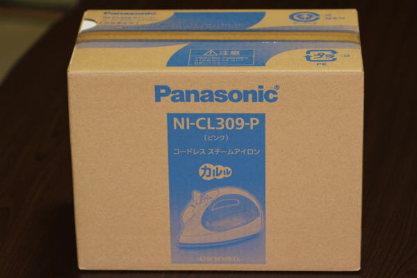 パナソニック コードレススチームアイロン ブルー NI-CL309